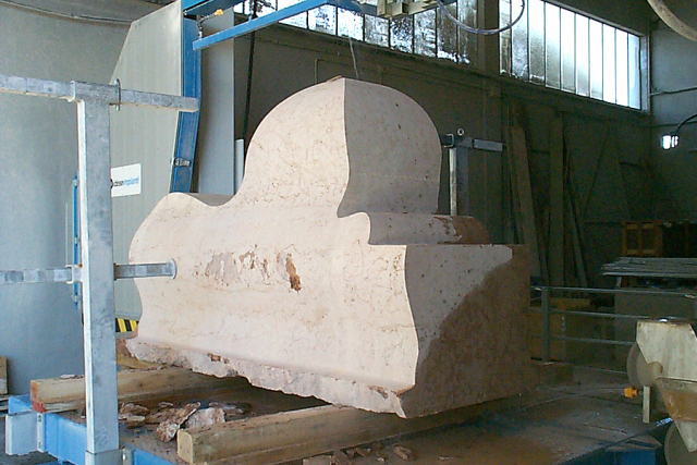 Sagomatura della pietra